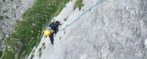 Alpin-Training des Stützpunktkaders Tölz am Ross- und Buchstein