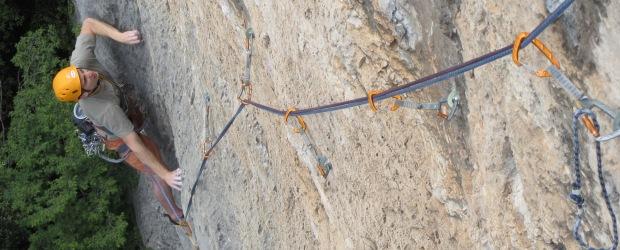 "Ein Wochenende zum Klettern in Arco: ""Mescalito"" (Colodri) und ""Penelope"" (San Paolo)"