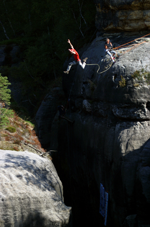 Bergzeit Kletterteam Uwe Daniel